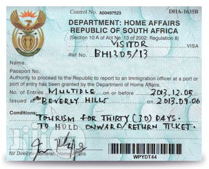Reliable south Africa Visa consultant