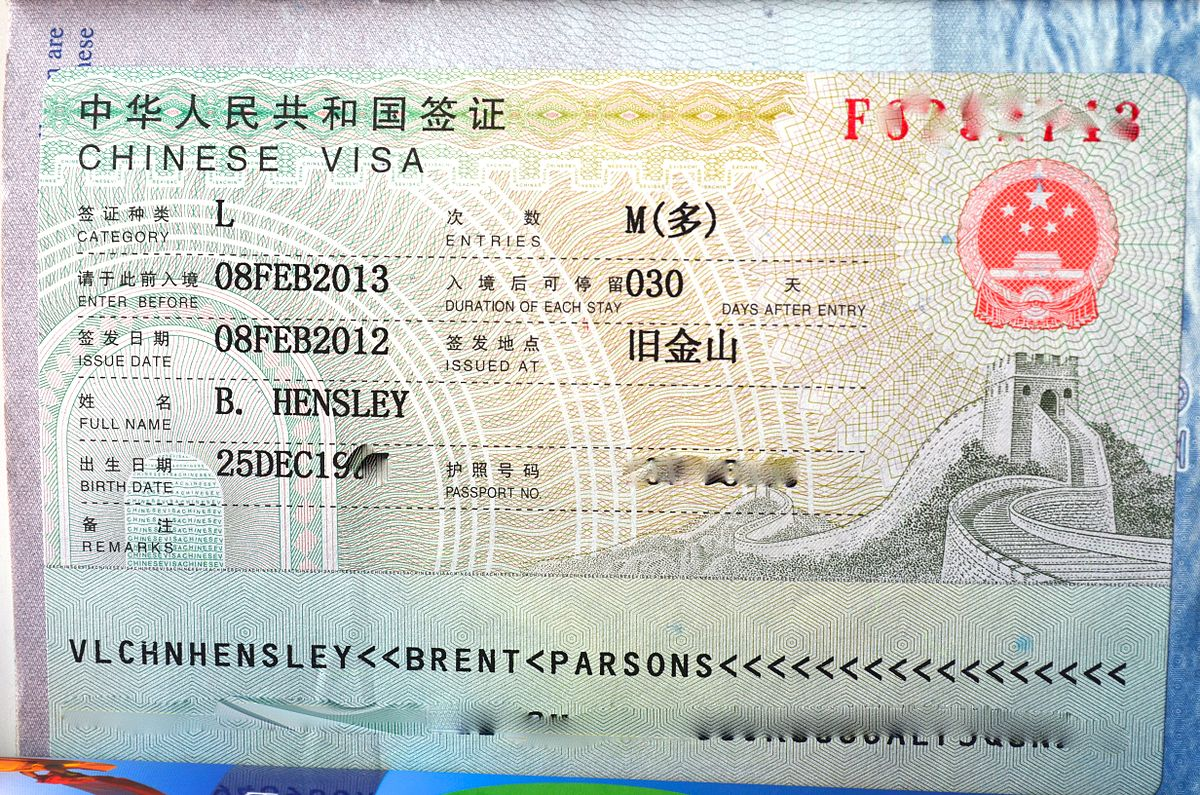 China Visa Agent In Delhi