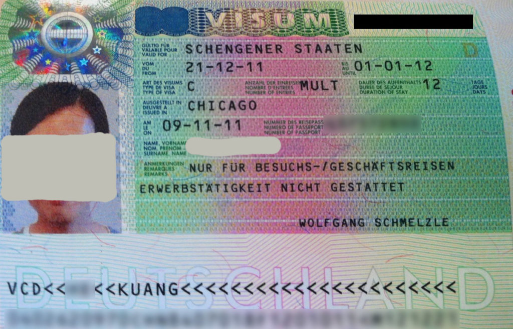 BUSINESS Visa Requirements for GERMANY (DELHI)