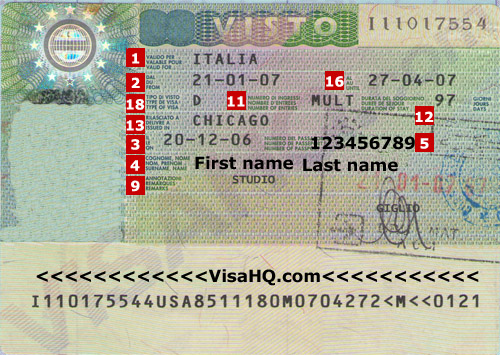 BUSINESS Visa Requirements for ITALY (DELHI)