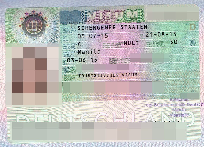 Germany Tourist Visa requirements 9811333197